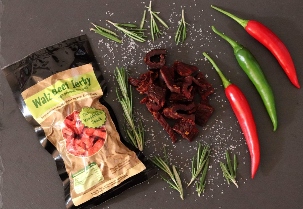 Beef Jerky Hot Chilli