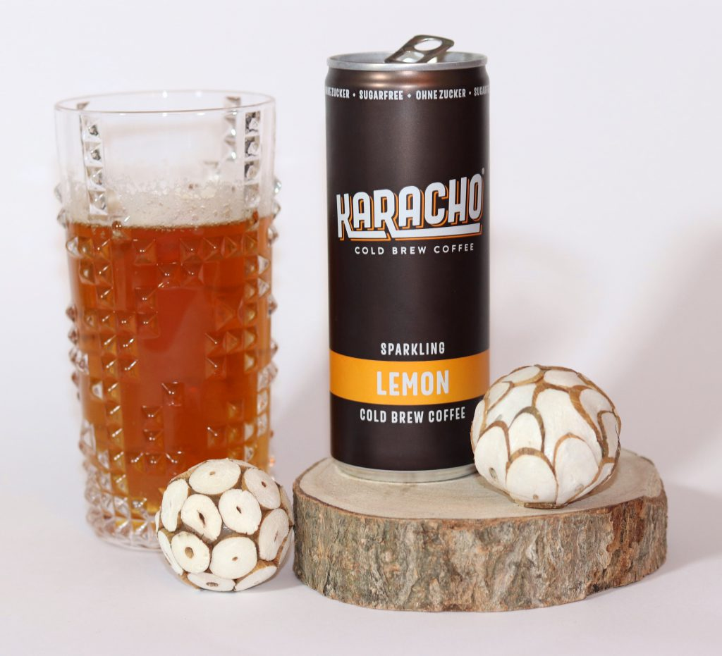 Karacho Cold Brew Coffee Lemon